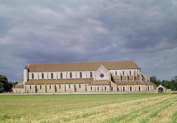 View of the Cistercian Abbey, built 1140-60