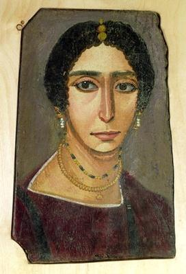 Portrait of a woman, from Fayum, 1st-4th century