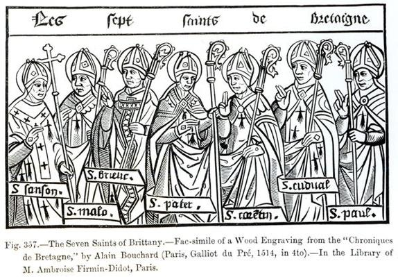 The Seven Saints of Brittany
