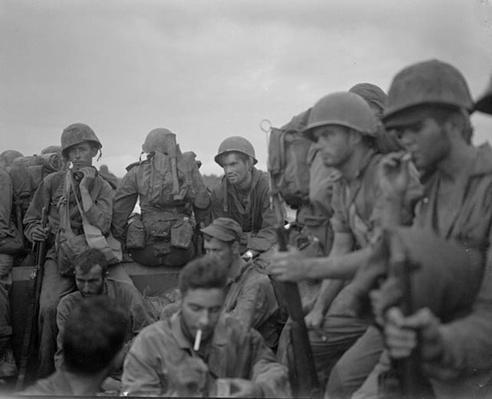 Eugene Sledge's Unit Heads into Combat | Ken Burns: The War