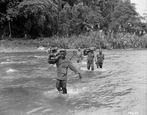 Crossing the Laruma River | Ken Burns: The War