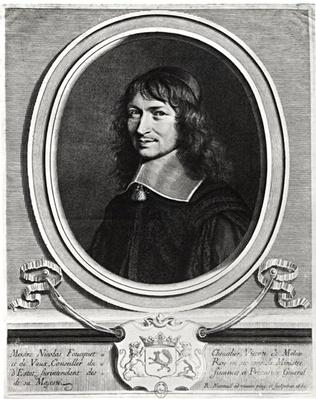 Portrait of Nicolas Fouquet