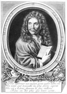 Portrait of Moliere