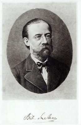Portrait of Bedrich Smetana