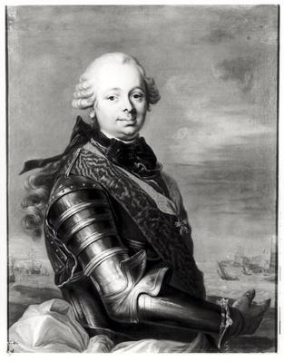 Portrait of Etienne-Francois, duke of Choiseul