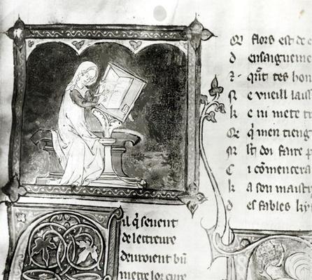 Ms.3142 fol.256 Marie de France
