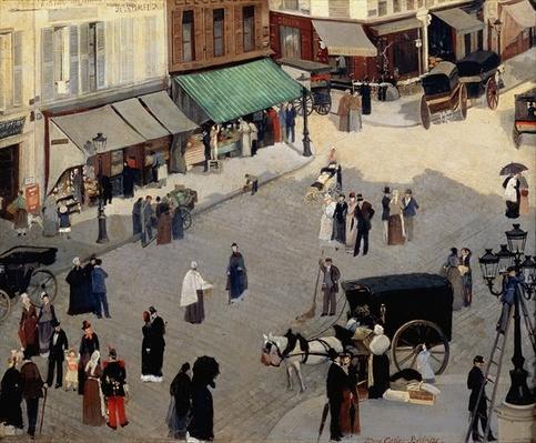 La Place Pigalle, Paris, 1880s
