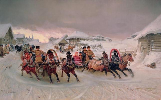 Shrovetide, 1889