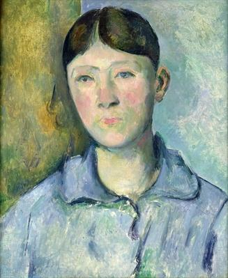 Portrait of Madame Cezanne, 1885-90