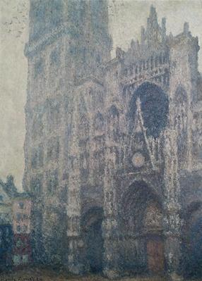 Rouen Cathedral, West Portal, Grey Weather, 1894