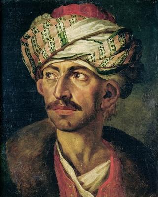 Head of an Oriental or Portrait Presumed to be Mustapha, c.1819-21