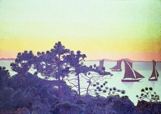 The Pointe de la Galere, 1891-92