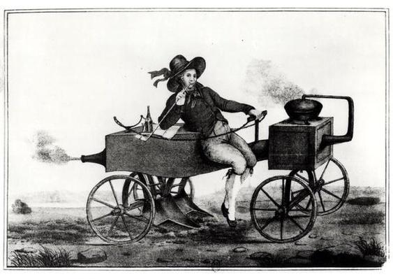 Steam plough, 1850