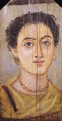 Fayum portrait of a woman