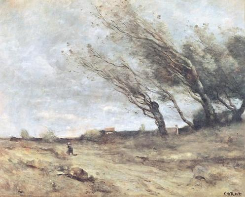The Gust of Wind, c.1865-70