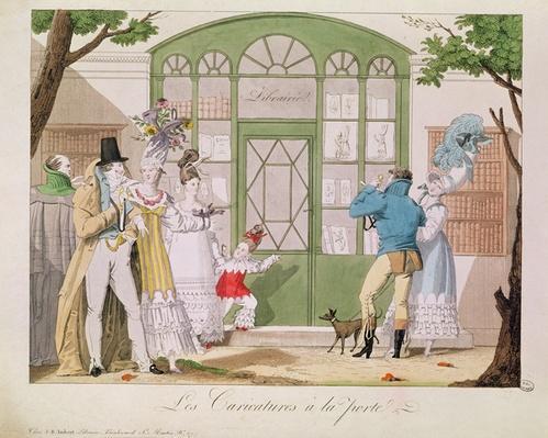 'Les Caricatures a la Porte', c.1814