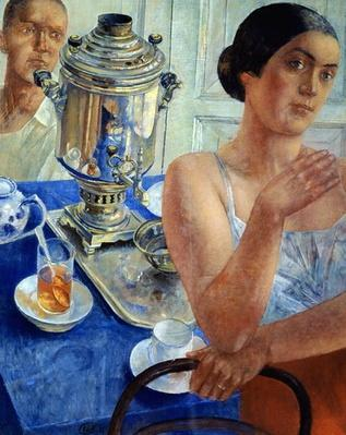 At the Samovar, 1926