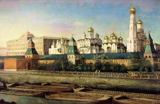 View of the Moscow Kremlin from the Embankment