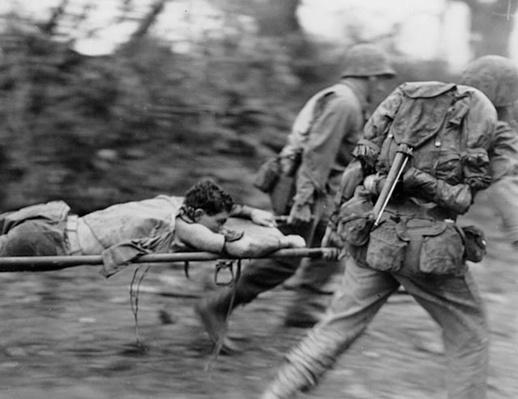 Okinawa: Carrying a Wounded Marine | Ken Burns: The War