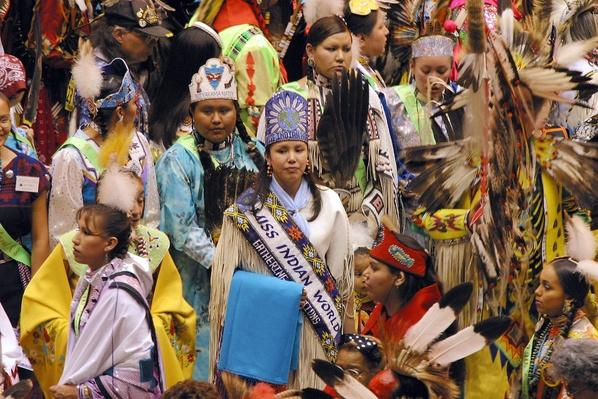 Gathering Of Nations Powow Held In Albuquerque | Native American Civilizations | U.S. History
