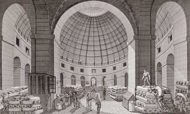 View of the Wheat Market and the Cupola, 18th-19th century
