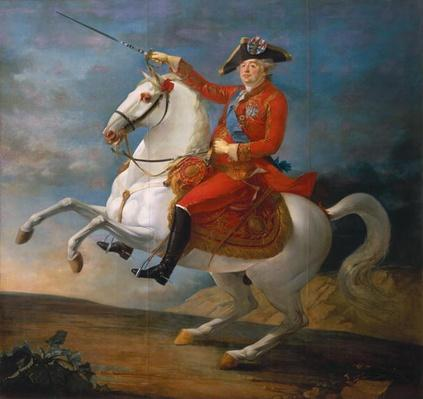 Equestrian Portrait of Louis XVI