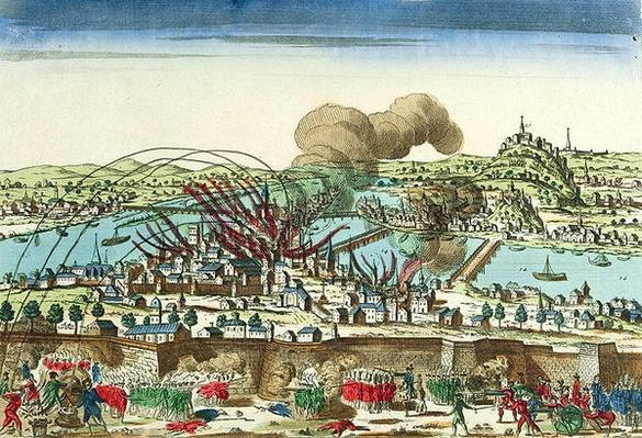 Siege of Lyon, October 1793