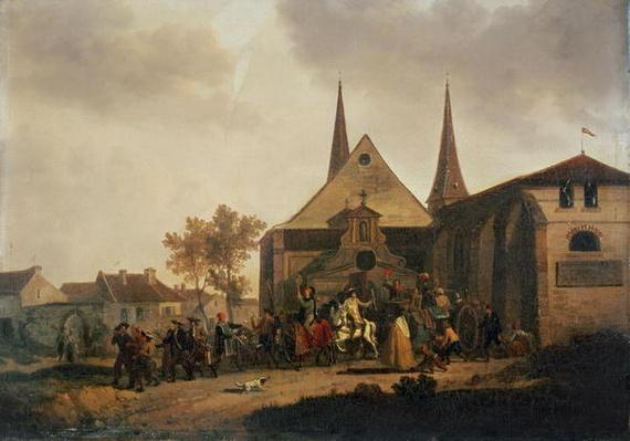 Pillage of a Church during the Revolution