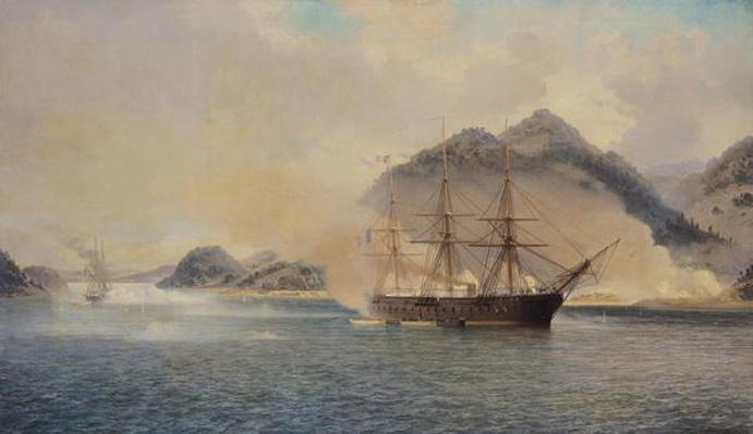 Naval Battle of the Strait of Shimonoseki, 20th July 1863, 1865