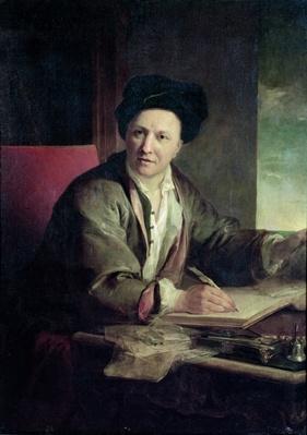 Portrait of Bernard le Bovier de Fontenelle