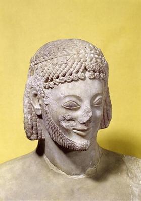Head of the Rampin Rider, c.550-540 BC