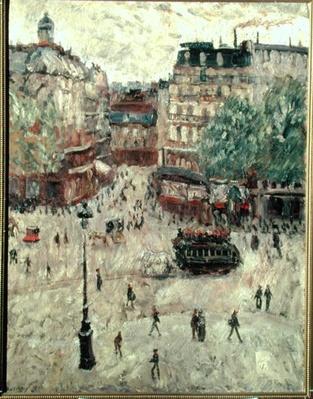 A Square in Paris, 1907