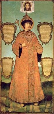Portrait of Czar Fyodor Alexeevich