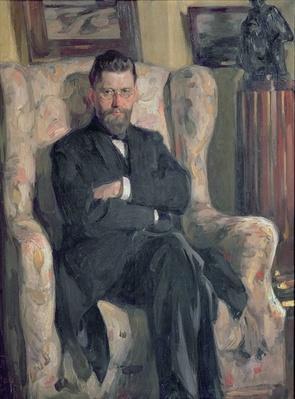 Portrait of the collector Alexei A. Bakhrushin