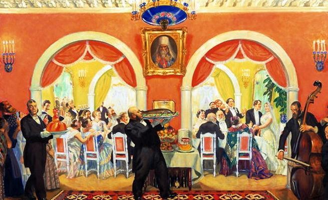 Wedding Feast, 1917