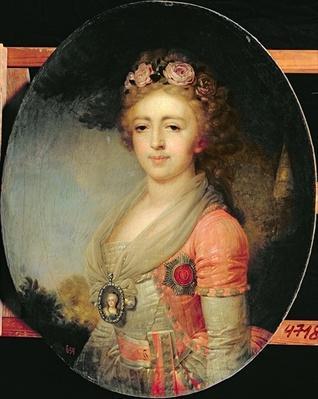 Portrait of Grand Duchess Alexandra, c.1798