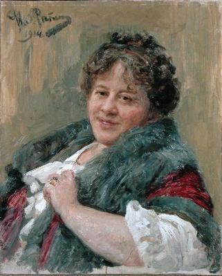 Portrait of Tatiana Olga Shchepkina-Kupernik