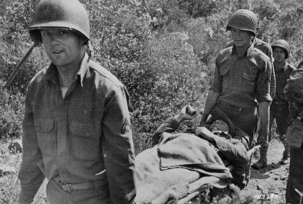 Wounded in North Africa | Ken Burns: The War
