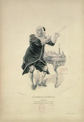 Dr Bartolo, from the opera 'The Barber of Seville' by Rossini