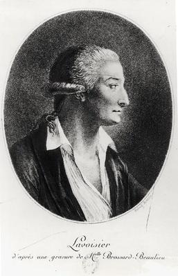 Portrait of Antoine Laurent Lavoisier