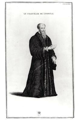 Portrait of Michel de L'Hospital
