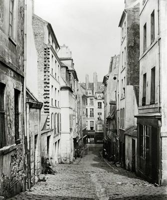 Rue du Bon-Puits, from the Rue Traversine, Paris, 1858-78