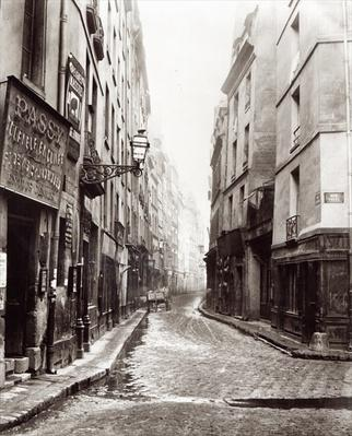 Rue Aumaire, from the Rue Volta, Paris, 1858-78