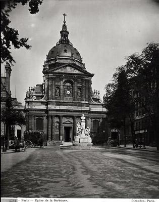 Church of the Sorbonne built by Jacques Lemercier