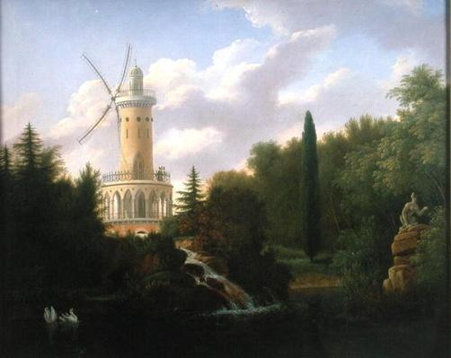 Windmill at the Folie-Beaujon in Paris, 1827