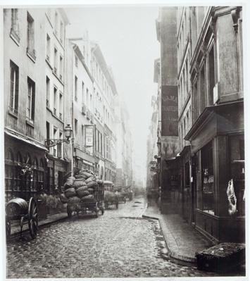 Rue de la Grande Truanderie, from the rue Montorgueil, Paris, 1858-78