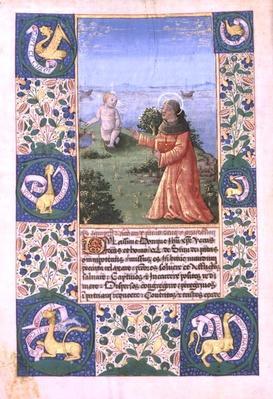 Ms Lat. Q.v.I.126 f.94v Louis of Orleans