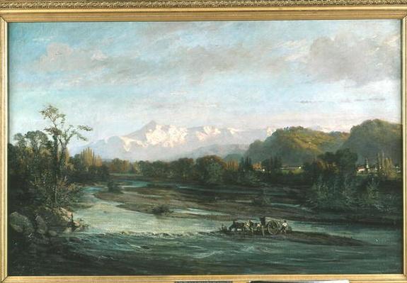 The Mountain Stream and the Pic du Midi, Bigorre, 1882
