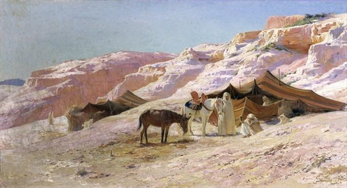 Bedouin Camp in the Dunes