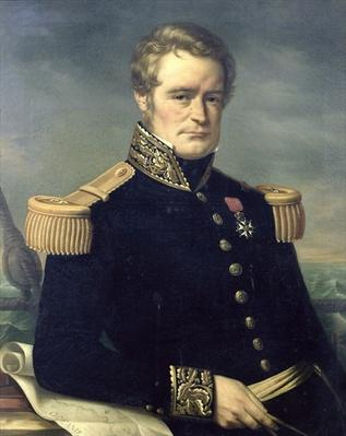 Portrait of Jules Dumont d'Urville